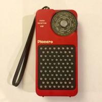 Pionero portable radio receptor. Cuba. 1980s.