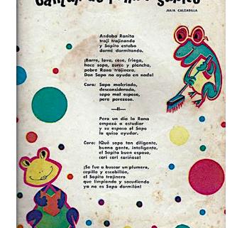 Cantar de rana y sapito
