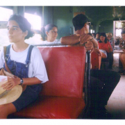Tren local. Trinidad, Cuba