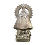 Estatuilla en bronce de la Virgen de la Caridad del Cobre