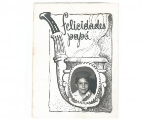 Postal de felicitación por el día de los padres