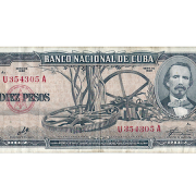 Billete de 10 pesos