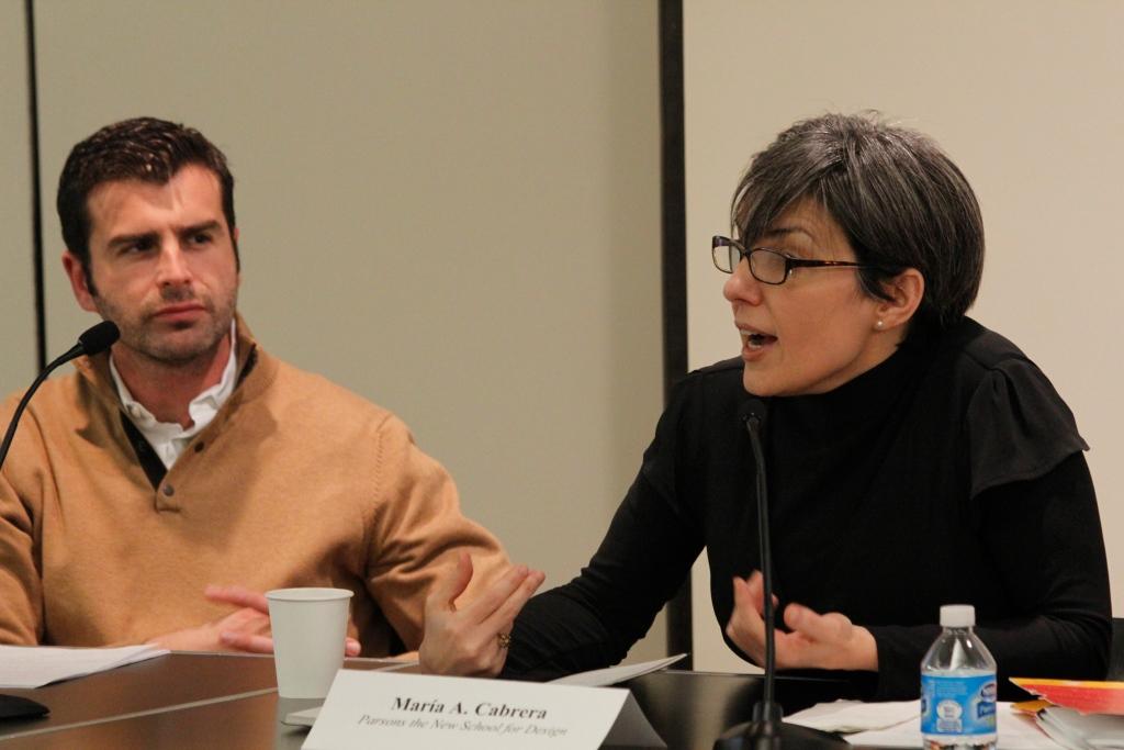 Raúl Rubio y María A Cabrera Arús. Bildner Center, CUNY. New York, NY. Marzo 1, 2013.