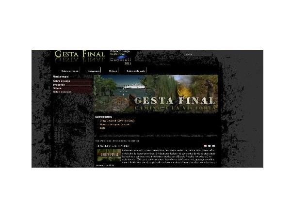 Videojuego Gesta Final.