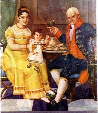 Por Juan Bautista Vermay. Tempranos 1800s.