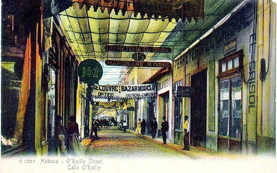 Calle O´Reilly. La Habana.