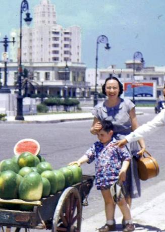 Vendedor de frutas en el Malecón