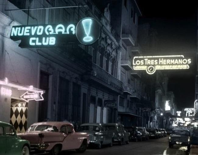 Calle Consulado. 1957.