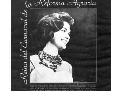 Reina del Carnaval de la Reforma Agraria