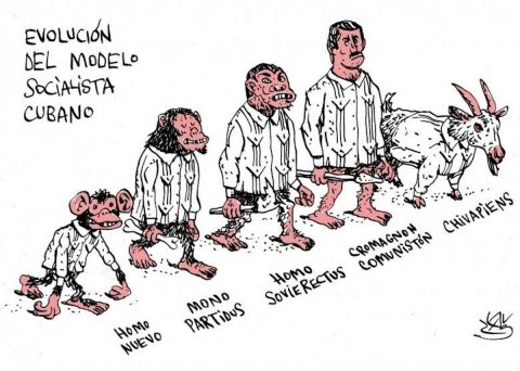 Caricatura de Alen Lauzán