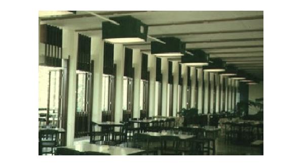 Interior de restaurante La Faralla