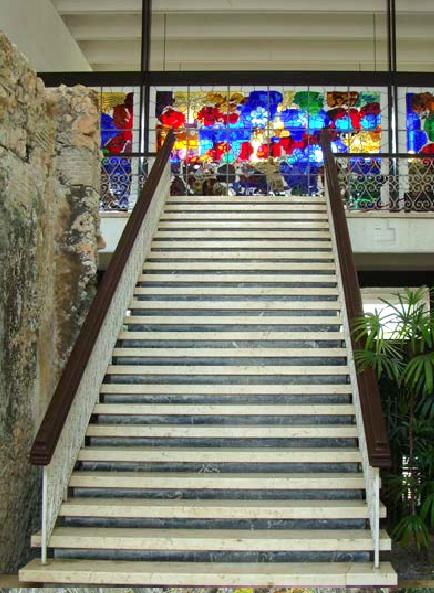 Restaurante Las Ruinas, en el antiguo Parque Lenin. La Habana, 2013. Imagen tomada de la revista Arquitectura y Urbanismo.