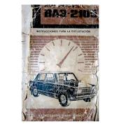 Manual de instrucciones Lada 2105
