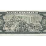 Billete de un peso emitido en 1961