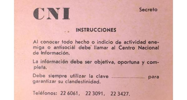 Tarjeta del Centro Nacional de Información