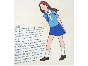 Uso del distintivo de la Unión de Pioneros Cubanos
