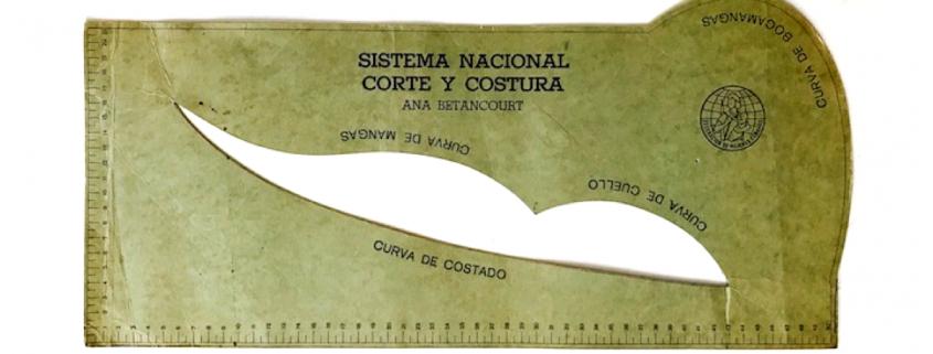 Plantilla de corte del programa de costura Ana Betancourt