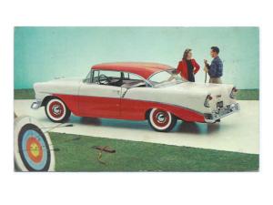Tarjeta promocional del Chevrolet de 1956 Sport Coupe