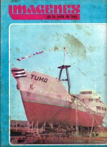 Barco de la Flota Cubana de Pesca