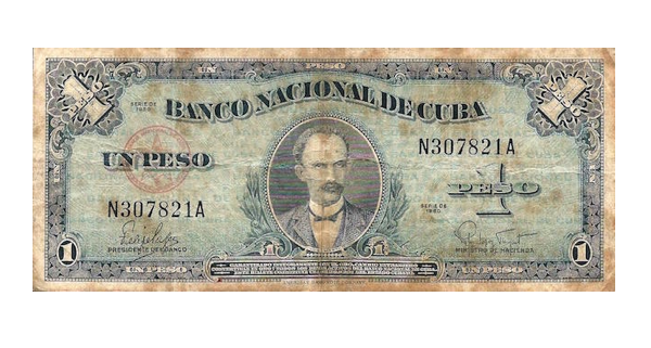 Billete de un peso