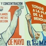Bono de asistencia a la marcha del Primero de Mayo.