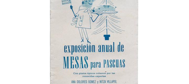 Brochure de la exposición anual de Mesas para Pascuas