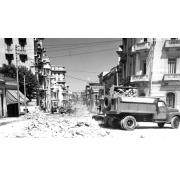 Trabajos de obras públicas en San Lázaro y M