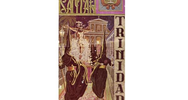 Postal de celebración de la semana santa en Trinidad