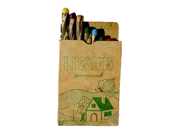Estuche de crayolas Arcoiris