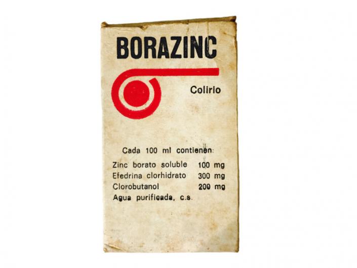 Envase de colirio Borazinc