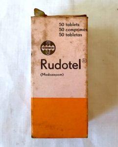 Envase de tablets de Rudotel