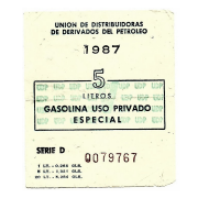 Bono de gasolina especial
