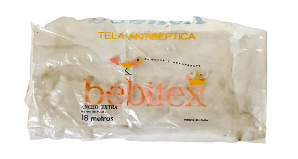 Tela antiséptica Bebitex