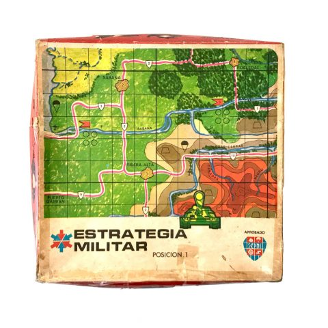 Juego De Mesa Estrategia Militar Cuba Material