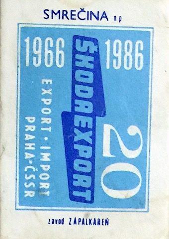 caja de fosforos Skodaexport