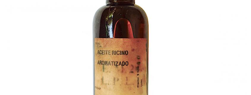 aceite ricino aromatizado