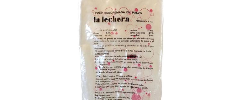leche en polvo descremada La Lechera
