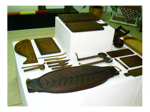 Vajilla diseñada por Gonzalo Córdoba y María Victoria Caignet