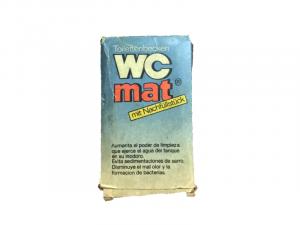 Pastillas para limpiar el inodoro WC Mat